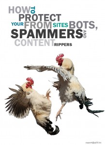 Bloack spammers and autoblogs ebook